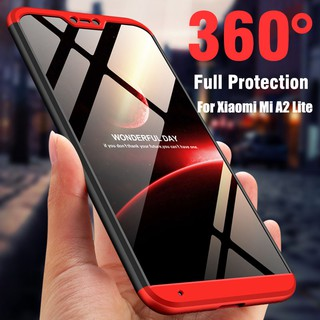 huge discount ceb50 ca766 360° Full Protection Shockproof Case for Xiaomi Mi A2 Lite Redmi 6 ...