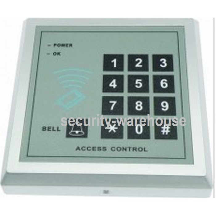 Access Control Kits Aspiring Metal Case Ip66 Waterproof 125khz Rfid Em Card Fingerprint Standalone Access Control Wiegand Output 3000 Users