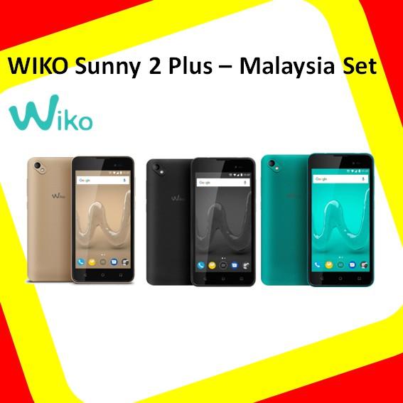 Wiko Sunny 2 Plus (1GB RAM+8GB ROM) Malaysia Set
