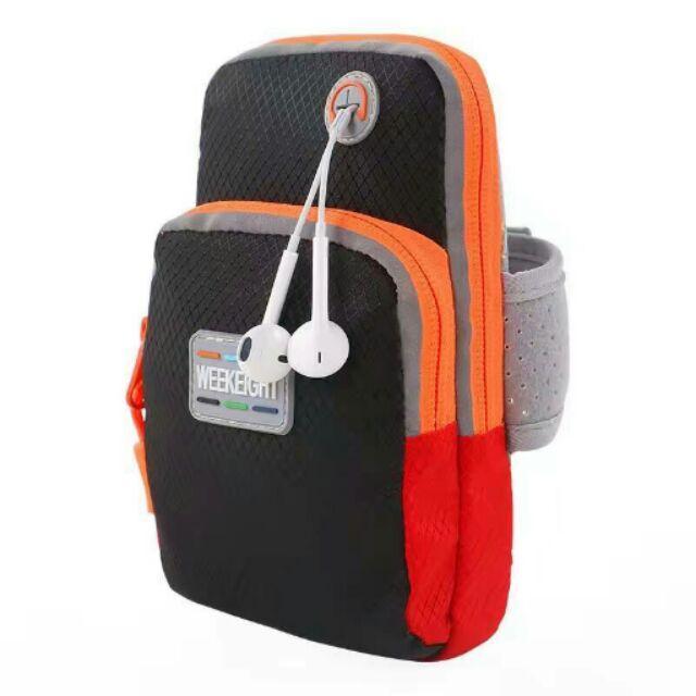Handphone sport travelling arm pouch