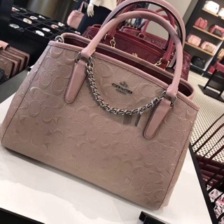 eafb67309 AUTHENTIC COACH SMALL MARGOT CARRYALL IN SIGNATURE (F55451) | Shopee  Malaysia
