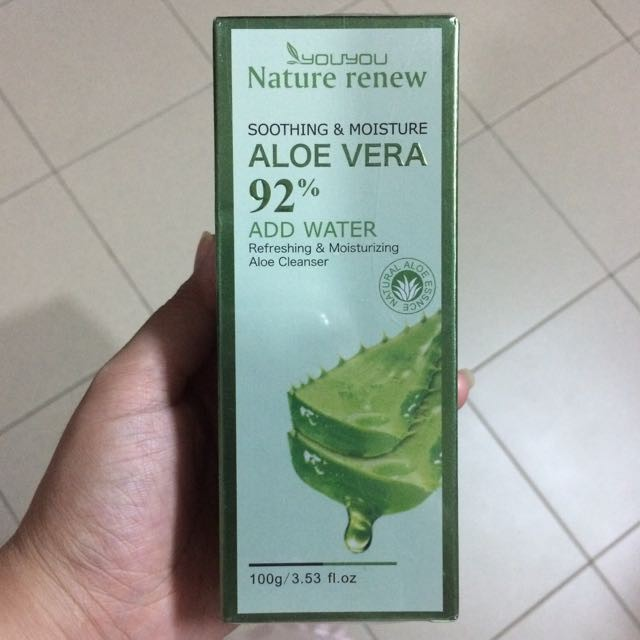 Aloe Vera Facial Cleanser By Youyou -100 g