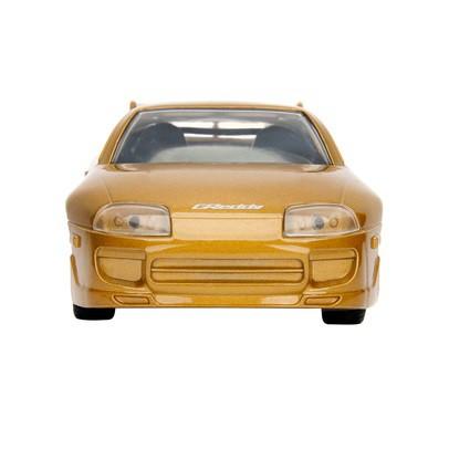 JADA 1:32 FAST & FURIOUS METAL DIE CAST 1995 SLAP JACK'S TOYOTA SUPRA (GOLDEN BROWN) MODEL COLLECTION 99542