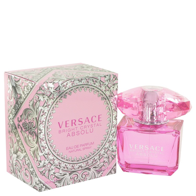 90ml Original Versace Bright Absolu Edp Crystal Perfume wnOk08PX