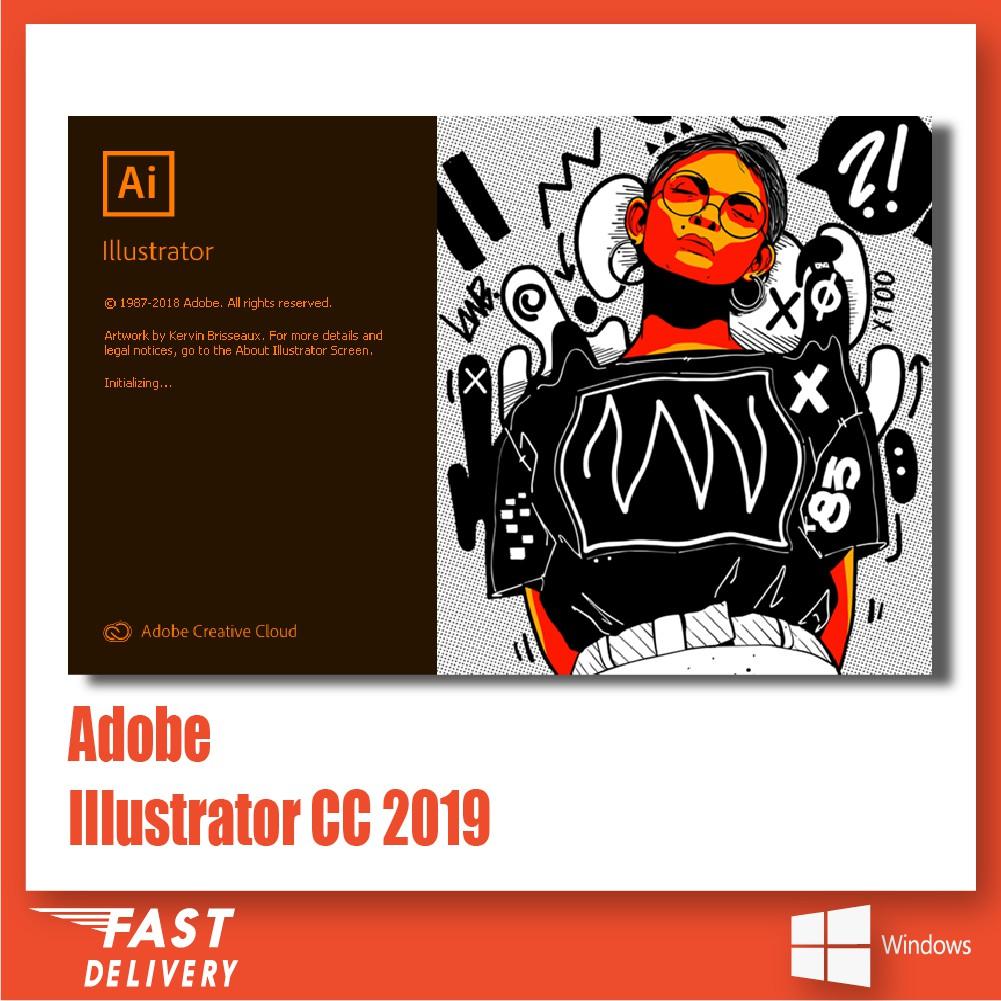 Adobe Illustrator CC 2019 v23