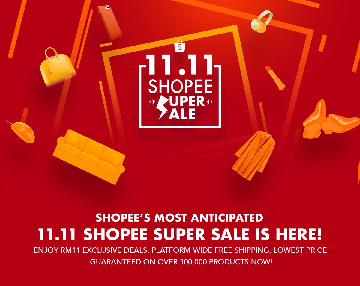 Harbolnas 11.11- Shopee Tawarkan Beragam Promo Menarik (shopee.com.my)