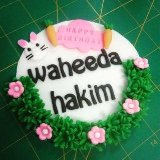 Topper Gumpaste Untuk Deco Kek Dan Sebagainya Shopee Malaysia