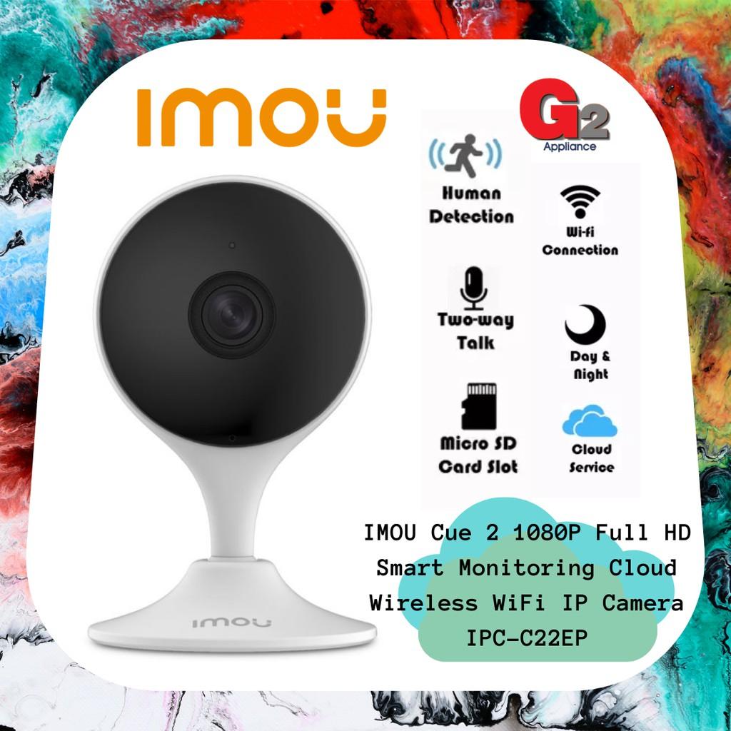 IMOU Cue 2 1080P Full HD Smart Monitoring Cloud Wireless WiFi IP Camera IPC-C22EP
