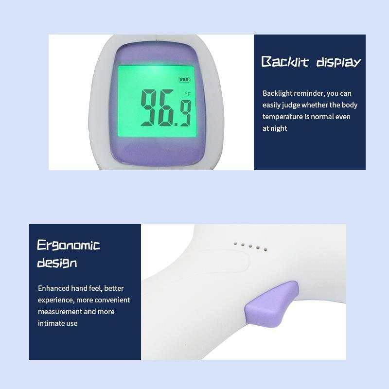 (OFFER)(Clear Stock) LFR30B Infrared Thermometer Gun / Medical Forehead Non Contact LCD Thermometer for Baby Adult