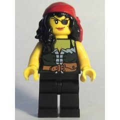 LEGO Pirates : Pirate Lady (Chess Queen)