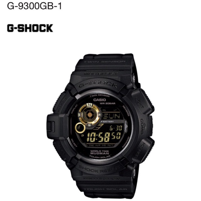 Casio G-shock Mudman G-9300gb-1 g-9300 100% Original  44f7890bfaa9