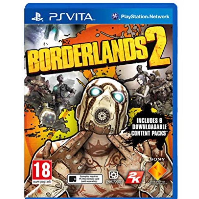 PS Vita Borderlands 2 (Eng/Used)