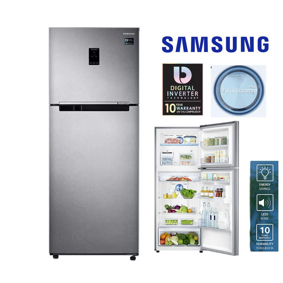 Samsung Smart Conversion Fridge (340L) SAM RT29K5032S8