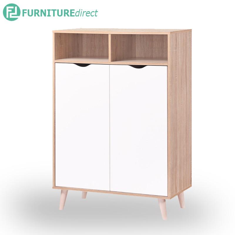 ORICA 2 Door shoe cabinet / rak kasut/ rak kasut kayu/ rak kasut bertutup