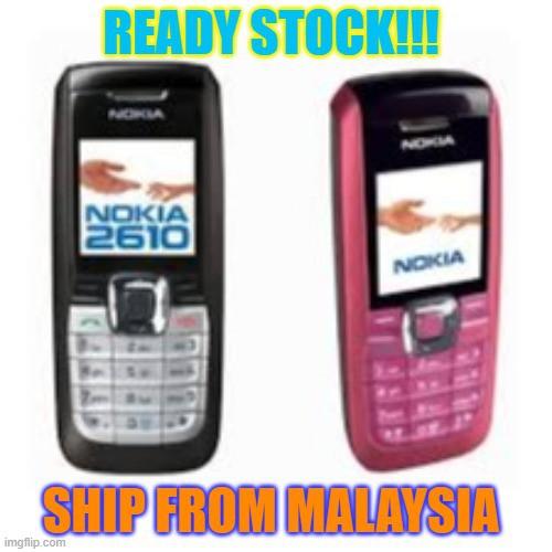 Nokia 2610 Headphone Connecting People RefurbishED COLOR SCREEN