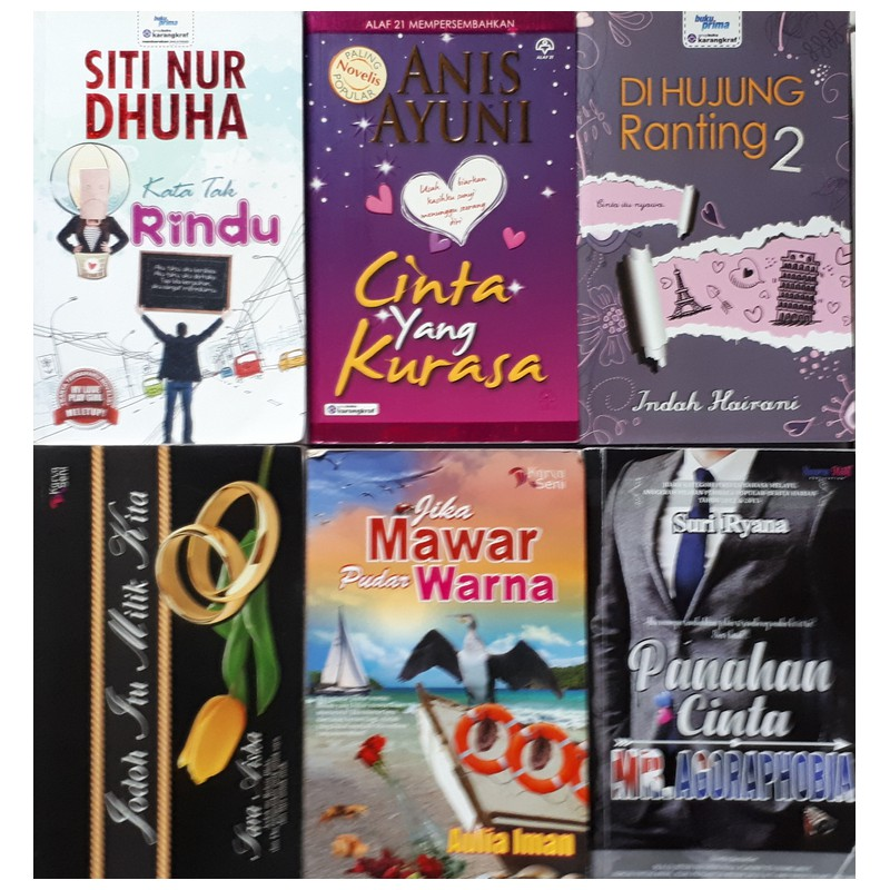🔥🔥 SALE!!! Novel Preloved / Novel terpakai   (35) 🔥🔥
