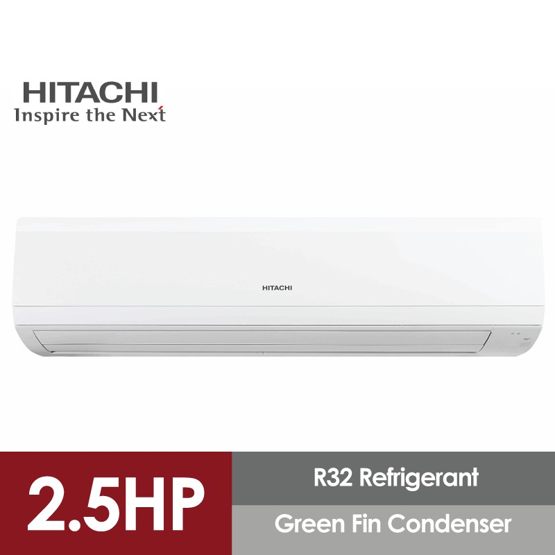 Hitachi Air Conditioner Standard Series R32 (2.5HP) RAS-EH24CKM