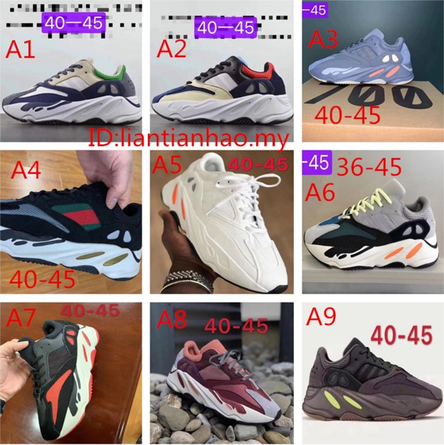 6f27e702 2017 4colors GUCCI X Adidas Yeezy Boost 350 V2 Snakes snake sneakers shoes  | Shopee Malaysia