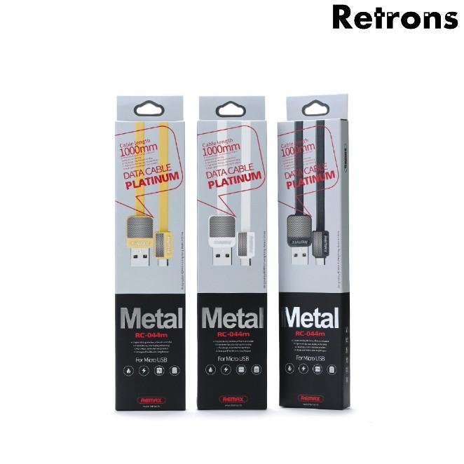 Remax Platinum Metal Data Cable RC-044