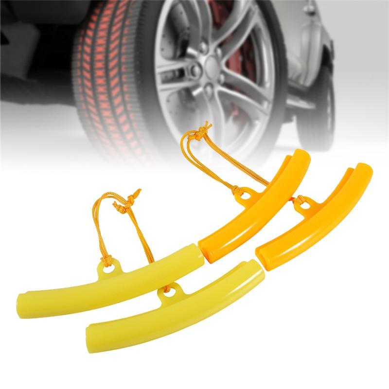 2 pcs Car Tire Guard Rim Protector Tyre