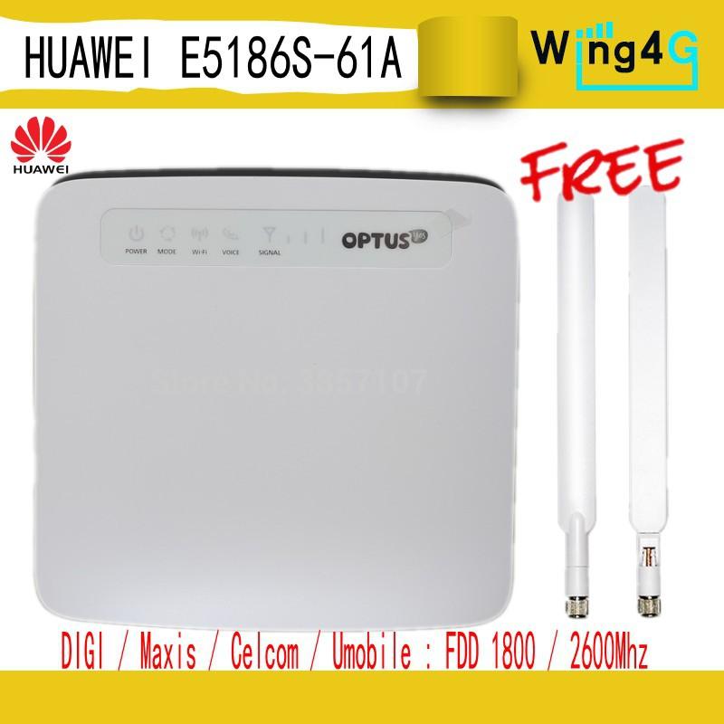 Huawei E5186S-61a 4G FDD TDD Cat6 LTE CPE router wifi LTE banda 3/7/28/40
