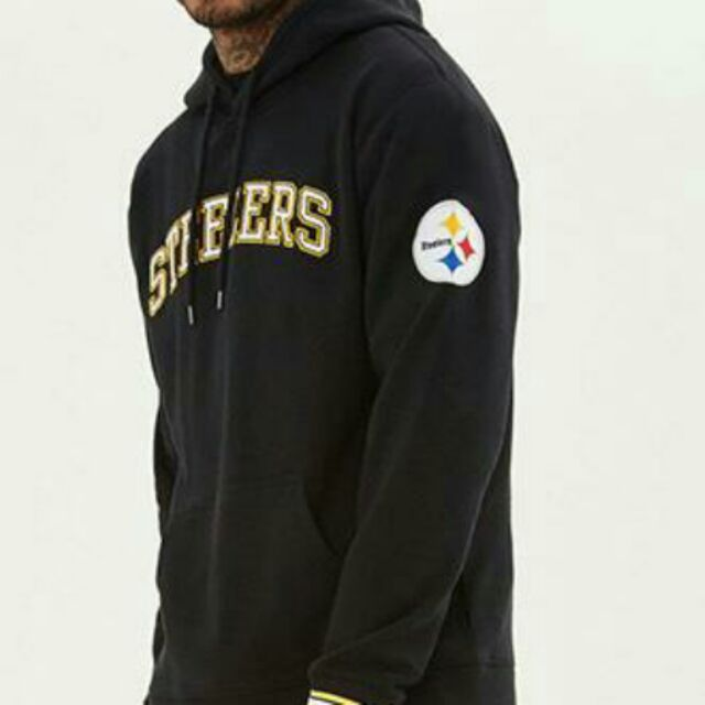 best website f0243 f1c38 Forever 21 NFL Pittsburgh Steelers Hoodie