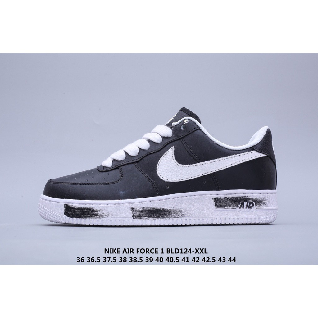 nike air force 1 black with white insole