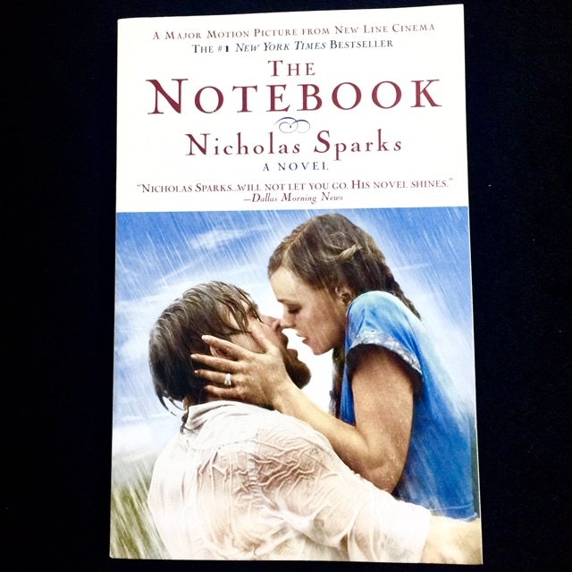 The Notebook by Nicholas Sparks (romance book)