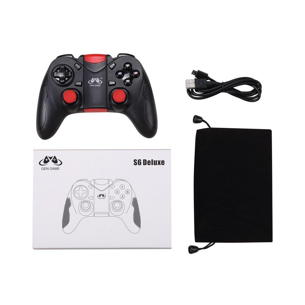 Phorock GEN GAME S6 Deluxe Version Wireless Bluetooth 3 0 Gamepad SHOS6HU
