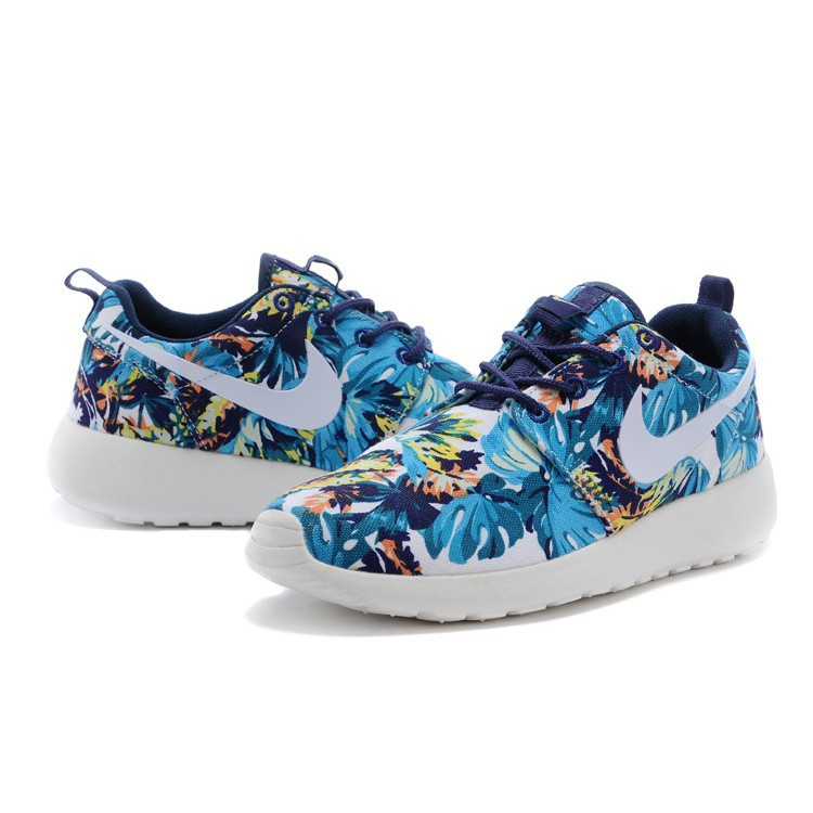 buy popular 9954b 7a6cd ProductImage. ProductImage. MY Nike roshe run flower ...