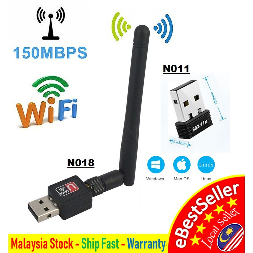 ❤ Mediatek Ranlink 🔥 Mini Wireless Wifi 150Mbps N USB Adapter 802 11n Lan  Card