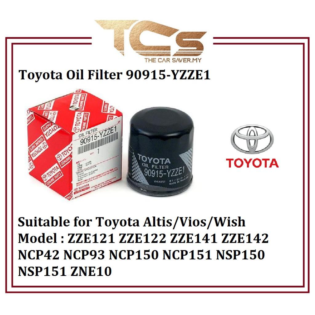 Toyota Oil Filter 90915-YZZE1