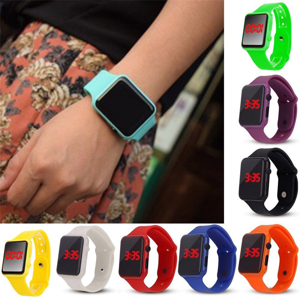 d830086ab [Time Walker]LED Digital sports watch silicone wrist band Watches men  children fashion watch women Dress woman Sport