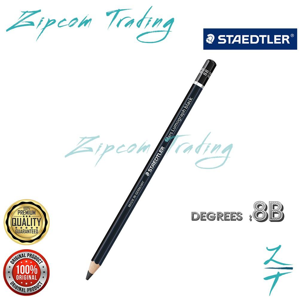 STAEDTLER Mars 100B Lumograph Black Pencils ( 2B/4B/6B/7B/8B )