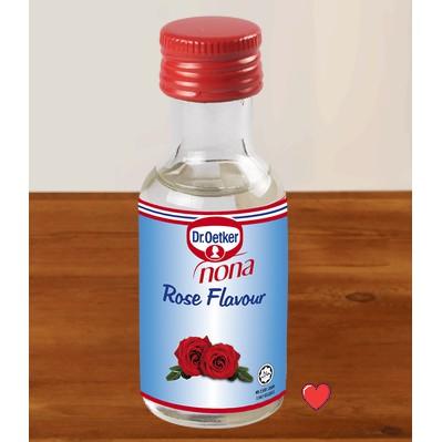Dr.Oetker Nona Rose Flavour 25ml ( Free Fragile + Bubblewrap Packing )