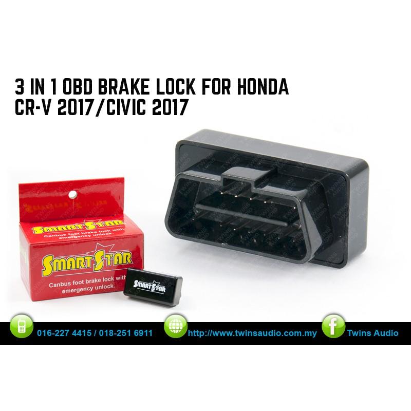 SMARTSTAR HONDA CIVIC/CRV 17Y 3 IN 1 OBD BRAKE LOCK