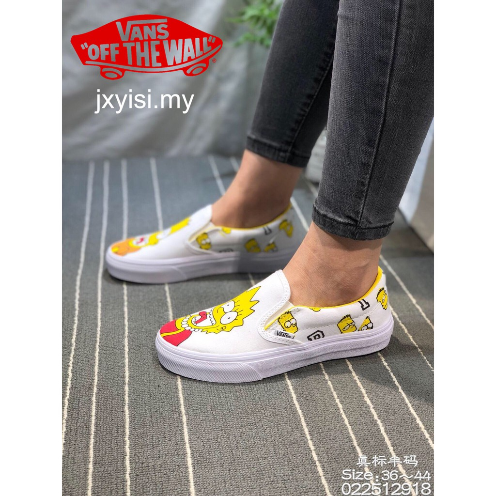 Womens Canvas Low Top Sneaker Lace-up Classic Casual Cartoon Character Shoes