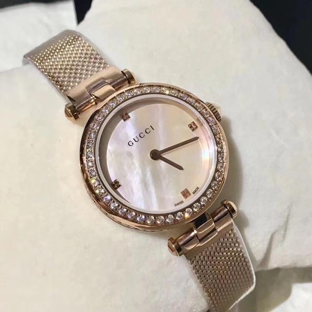 69f17c1eea7 Gucci Diamantissima Watch YA141501 32 27mm