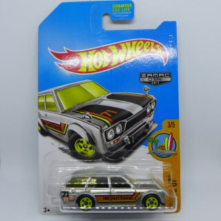 Hot Wheels Hotwheels Datsun Bluebird 510 Wagon Zamac
