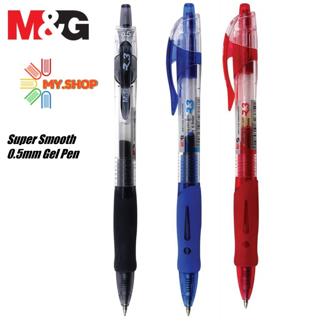 M&G AGP-02372 R-3 0.5mm Gel Ink Pen