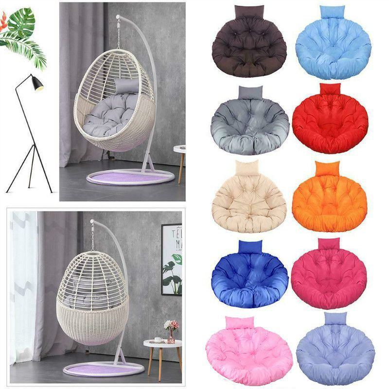 Ready Stock Rattan Swing Chair Hanging Egg Chair Cushion Soft Mat Pad Cover Patio In Outdoor Shopee Malaysia