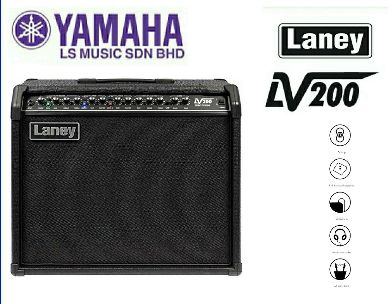 Laney LV200 Guitar Amplifier 65watt Gitar