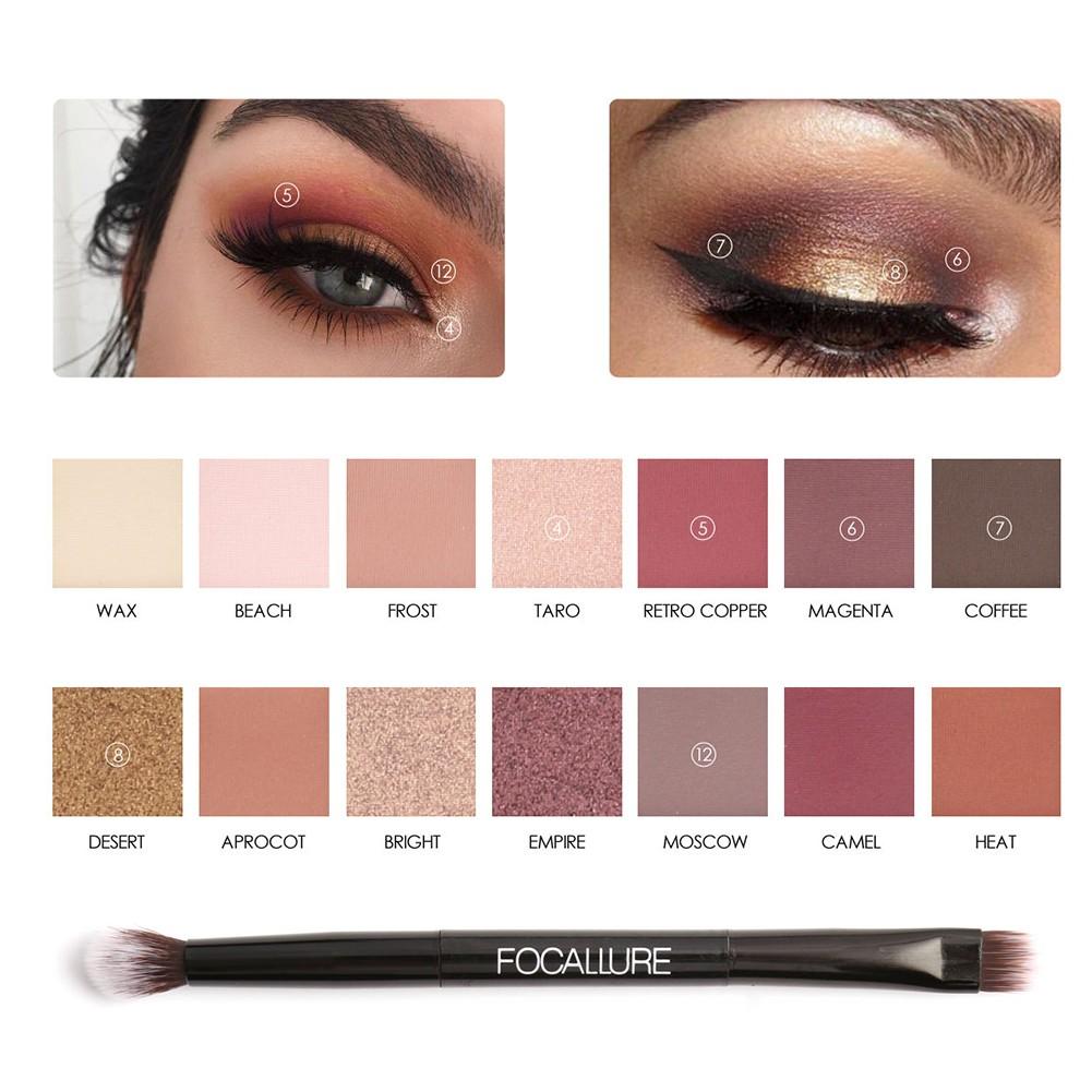 Originalfocallure Tropical Vacation Everchanging Eyeshadow Focallure Glitter And Glow Liquid Palletepreorder Shopee Malaysia