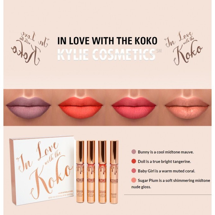 kylíe In Love With The Koko Lipstick 4 in 1