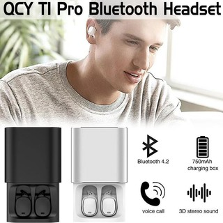 d172b3a7a92 QCY T1 Pro TWS Bluetooth Earphones Touch Control Wireless Headsets With Mic  | Shopee Malaysia