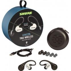 {SE215PE-W-TW1-A} Shure AONIC 215 True Wireless Sound Isolating Earphones (White)