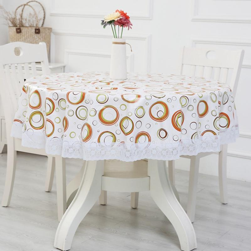 Large Round Table Cloth.Thickened Round Table Cloth Environmental Protection Plus