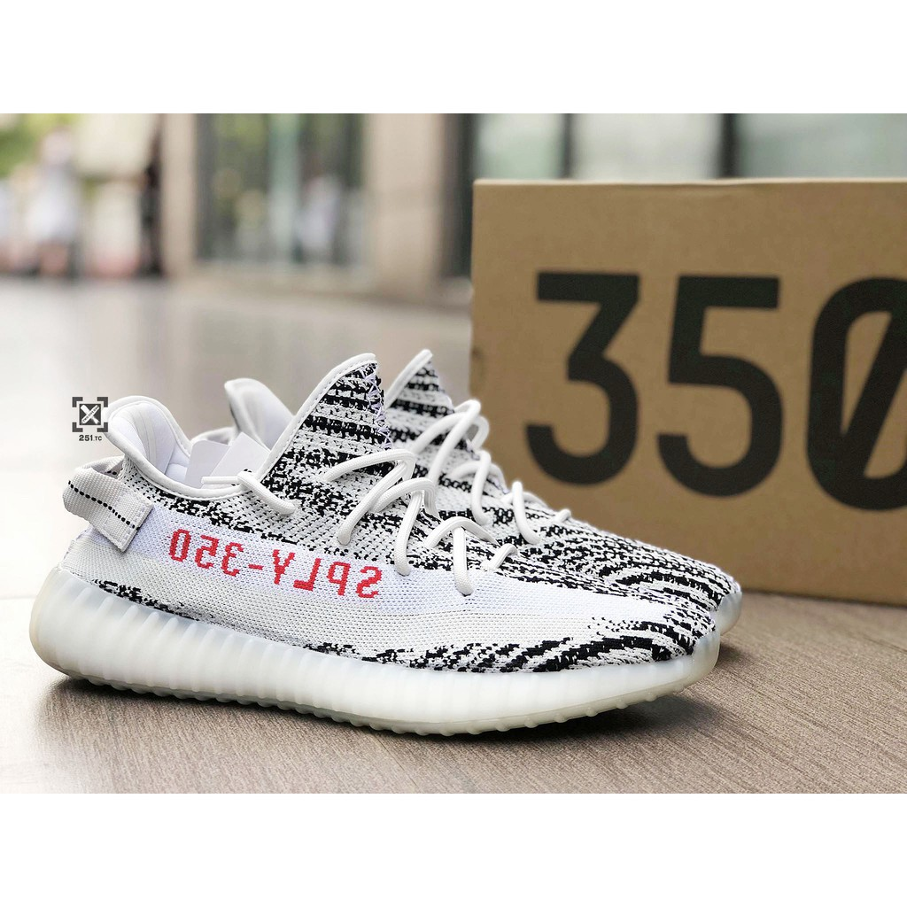 [New stock] original Adidas Yeezy Boost 350 V2 white Zebra CP9654 hot selling