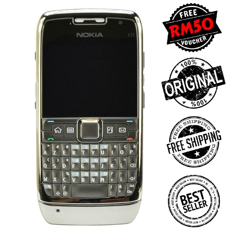 🇲🇾 Original Nokia E71 E-Series Business Phone Qwerty Keyboard Full Set [1 Month Warranty] FREE RM50 Voucher