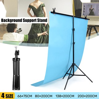 T-type Adjustable Background Stand Metal Holder Photo Studio
